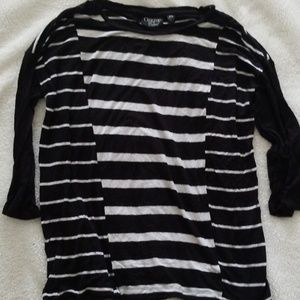 Onque Casual Black and white shirt